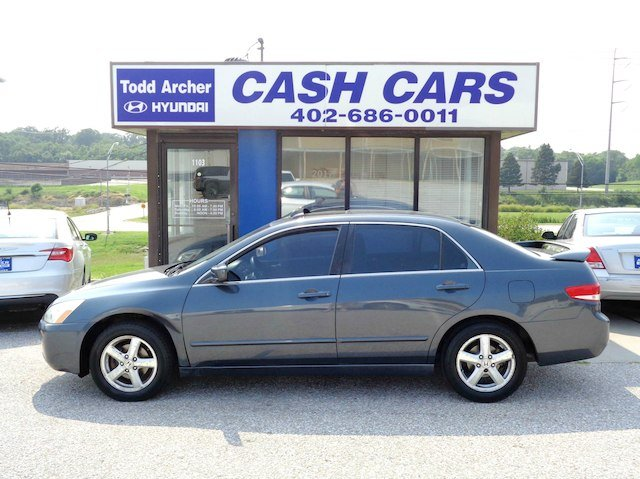 Used 2003 Honda Accord Sdn EX EX Auto V6 W/Leather Near Omaha