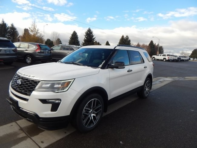New 2019 Ford Explorer Sport SUV For Sale/Lease Soda Springs, ID