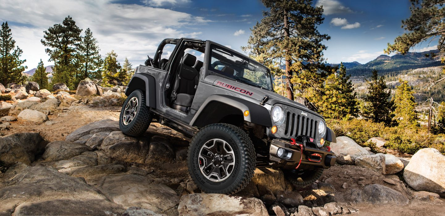 2017 Jeep Wrangler Exterior Side Gray