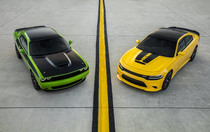 2017 Dodge Challenger and 2017 Dodge Charger