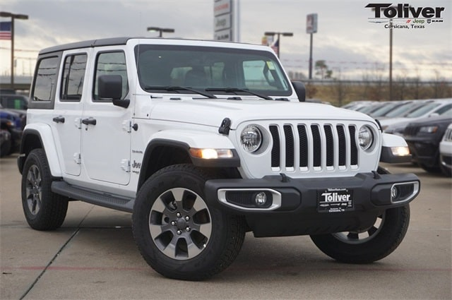 2018 Jeep Wrangler Unlimited Sahara 4x4 SUV