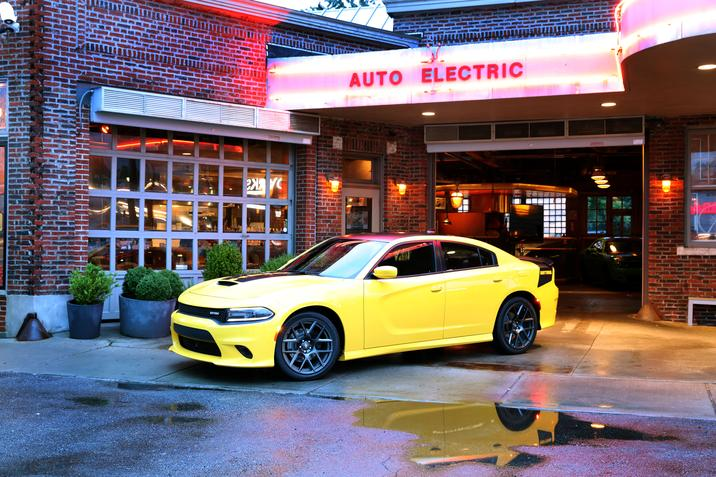 2017 Dodge Charger Daytona Yellow Exterior