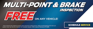 Multi-Point & Brake Inspection