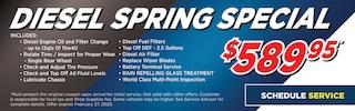 Diesel Spring Special