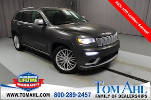 2018 Jeep Grand Cherokee Summit 4x4, NAV, Sunroof SUV