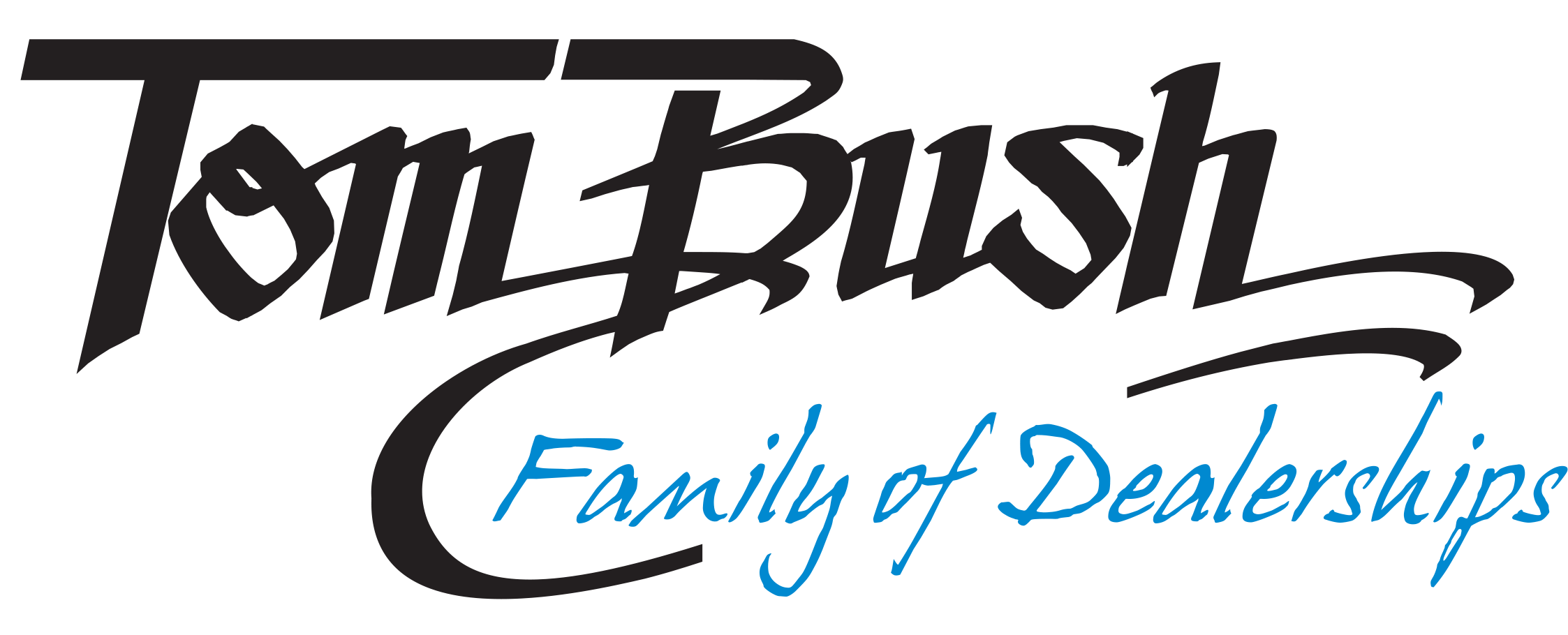 """The soon-to-be famous name """"Tom Bush Family of Dealerships"""" is officially adopted."""