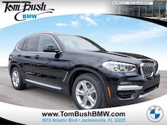 New 2021 BMW X3 xDrive30i Sports Activity Vehicle SAV for sale in Jacksonville, FL at Tom Bush BMW Jacksonville