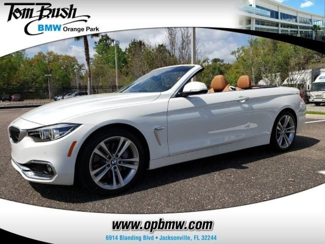 2019 BMW 4 Series 440i Convertible Convertible for Sale in Jacksonville, FL