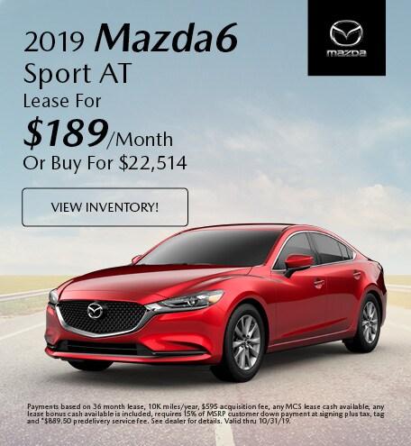 Tom Bush Mazda >> New Vehicle Specials Tom Bush Mazda