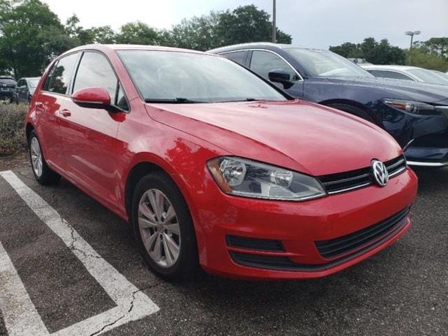 Used 2015 Volkswagen Golf 2.0L TDI S 4-Door Hatchback Jacksonville, Florida