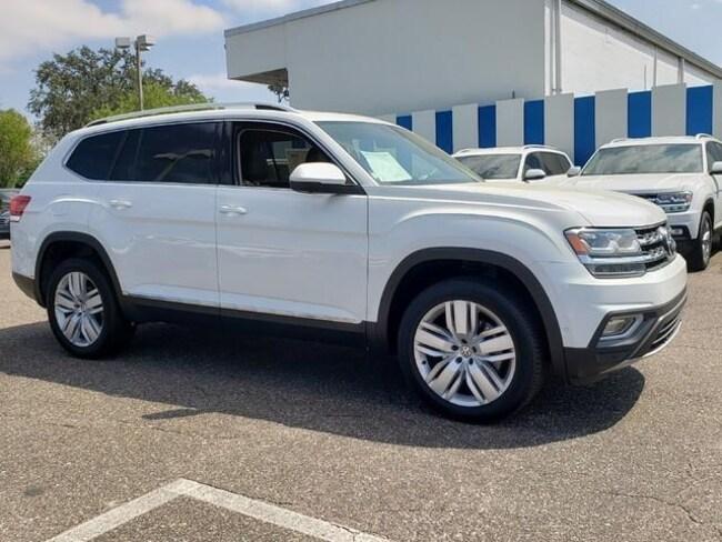 New 2019 Volkswagen Atlas 3.6L V6 SEL Premium 4MOTION SUV Jacksonville, Florida