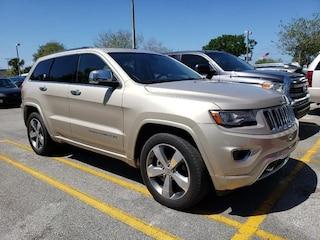 Used 2014 Jeep Grand Cherokee Overland 4x2 SUV Jacksonville Florida