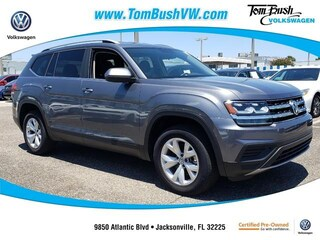 New 2018 Volkswagen Atlas 3.6L V6 S SUV for Sale in Jacksonville