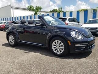 New 2019 Volkswagen Beetle 2.0T S Convertible Jacksonville Florida