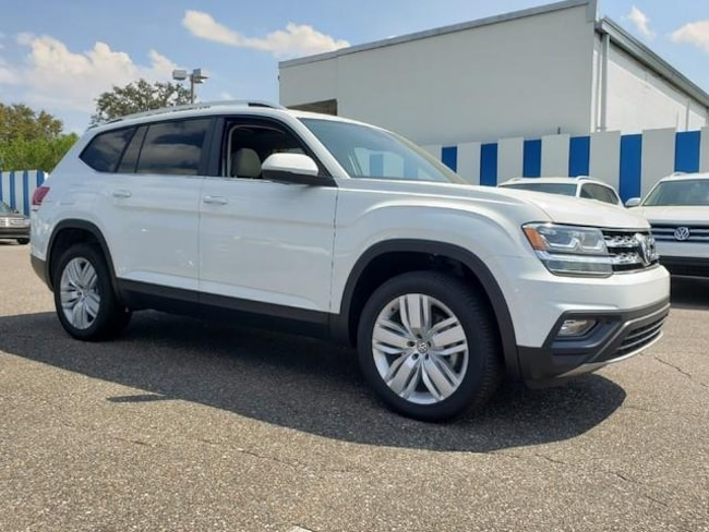 New 2019 Volkswagen Atlas 3.6L V6 SE w/Technology 4MOTION SUV Jacksonville, Florida