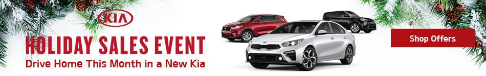 Drive Home This Month in a New Kia