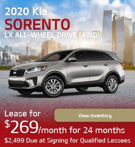 2020 Kia Sorento LX All-Wheel Drive (AWD)