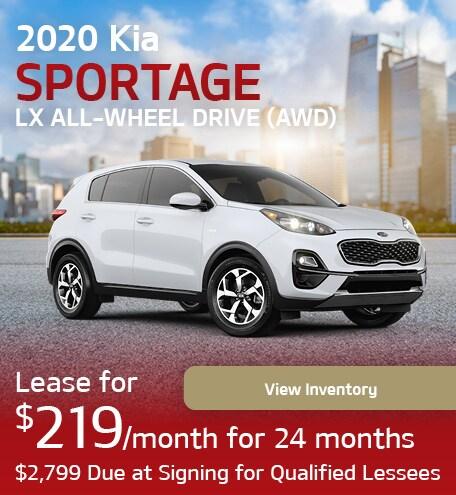 2020 Kia Sportage LX All-Wheel Drive (AWD)