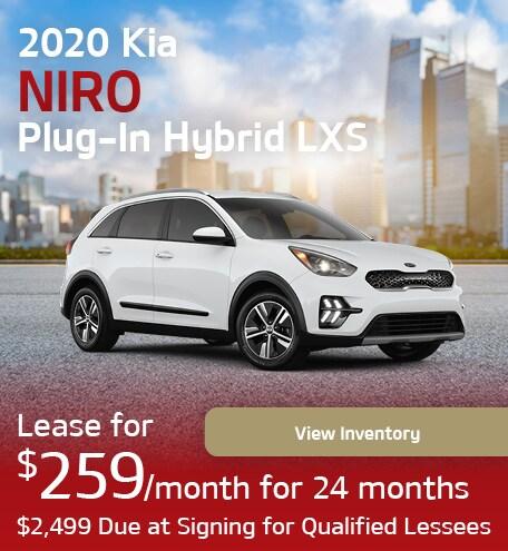 2020 Kia Niro Plug-In Hybrid LXS
