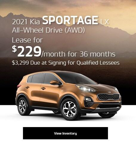 2021 Kia Sportage LX All-Wheel Drive (AWD)