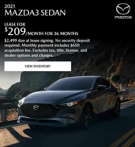 2021 MAZDA3 Sedan
