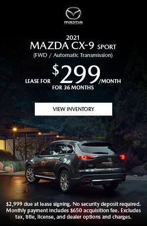 2021 MAZDA CX-9 Sport (FWD / Automatic Transmission)