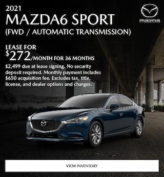 2021 Mazda6 Sport (FWD / Automatic Transmission)