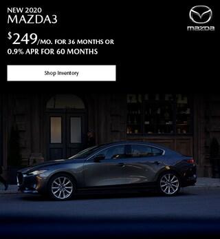 New 2020 Mazda3