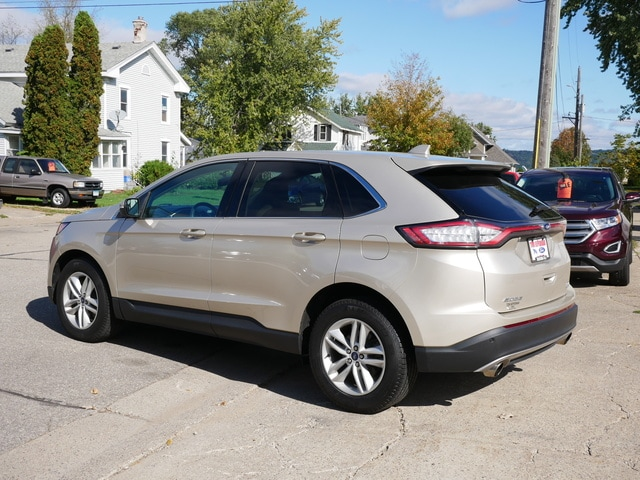 Used 2018 Ford Edge SEL with VIN 2FMPK4J94JBC50799 for sale in Lake City, Minnesota