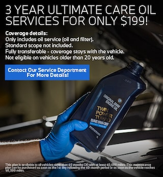 3 Year Ultimate Care Oil Services for Only $199!