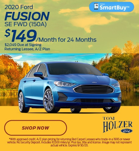 Updated September 2020 Ford Fusion
