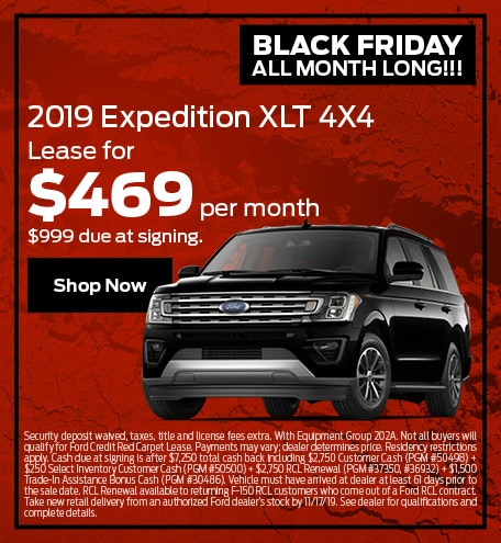 November Ford Expedition Special