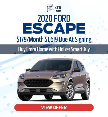 March 2020 Ford Escape