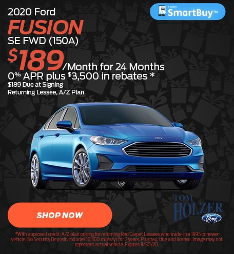 Updated November 2020 Ford Fusion SE FWD (150A)