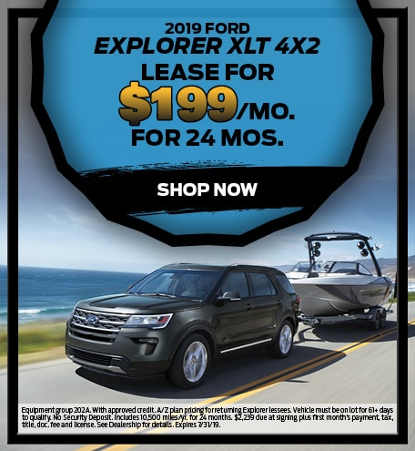 July 2019 Ford Explorer Special
