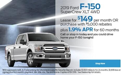 2019 Ford F-150 Supercrew XLT