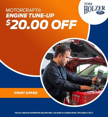 April MOTORCRAFT® ENGINE TUNE-UP