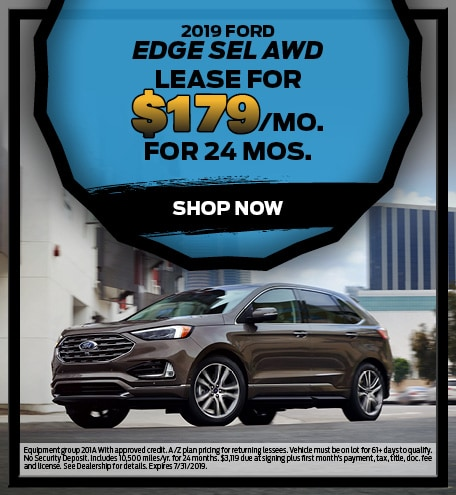 July 2019 Ford Edge Special