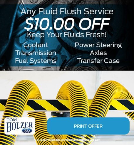 Updated January Any Fluid Flush Service $10.00 OFF Keep Your Fluids Fresh!
