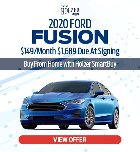 March 2020 Ford Fusion