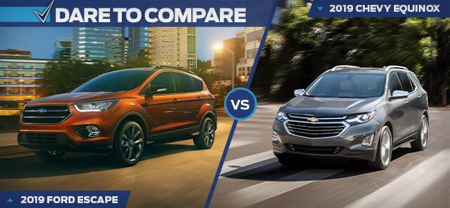 2019 Ford Escape vs Chevy Equinox | Decatur, IN