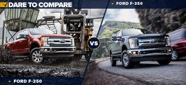 2019 Ford F-250 vs Ford F-350 | Decatur, IN