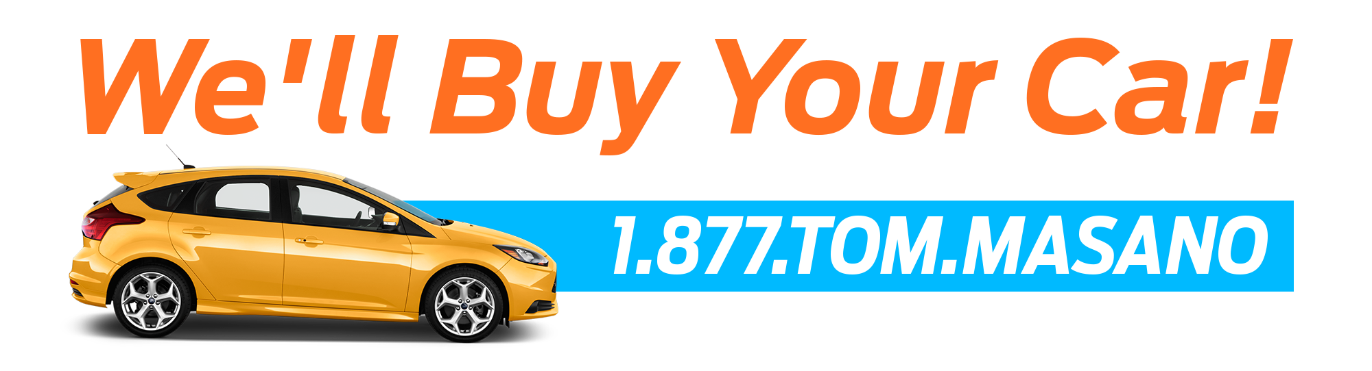 We Will Buy Your Car at Tom Masano Ford | Reading, PA