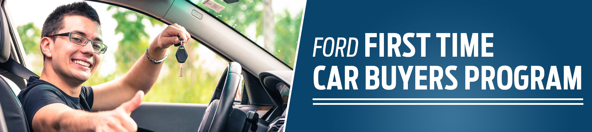 First Time Car Buyer Programs >> Ford First Time Car Buyer Program
