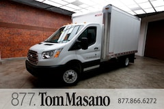 2018 Ford ,Transit T350 w/12' Morgan Dry Freight Body. XL Chassis Cab w/ 12' Morgan Dry Freight Van Body. 1FDRS8ZMXJKA70452