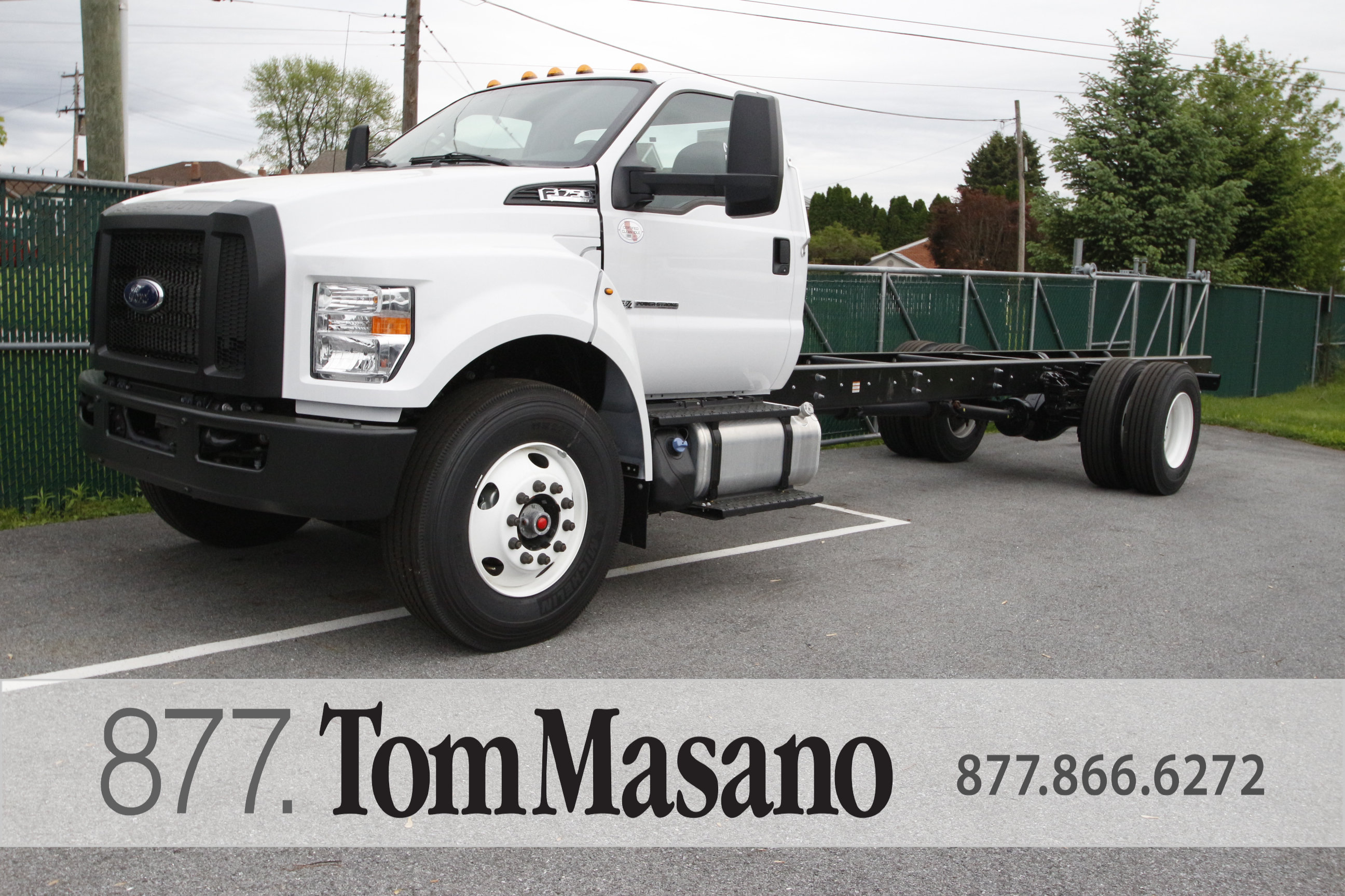 2019 Ford F750 Base Standard Cab