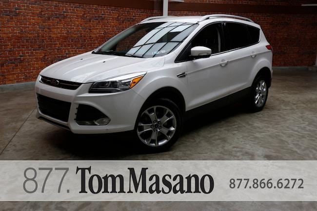 Tom Masano Used Cars >> Used 2016 Ford Escape For Sale At Tom Masano Lincoln Vin