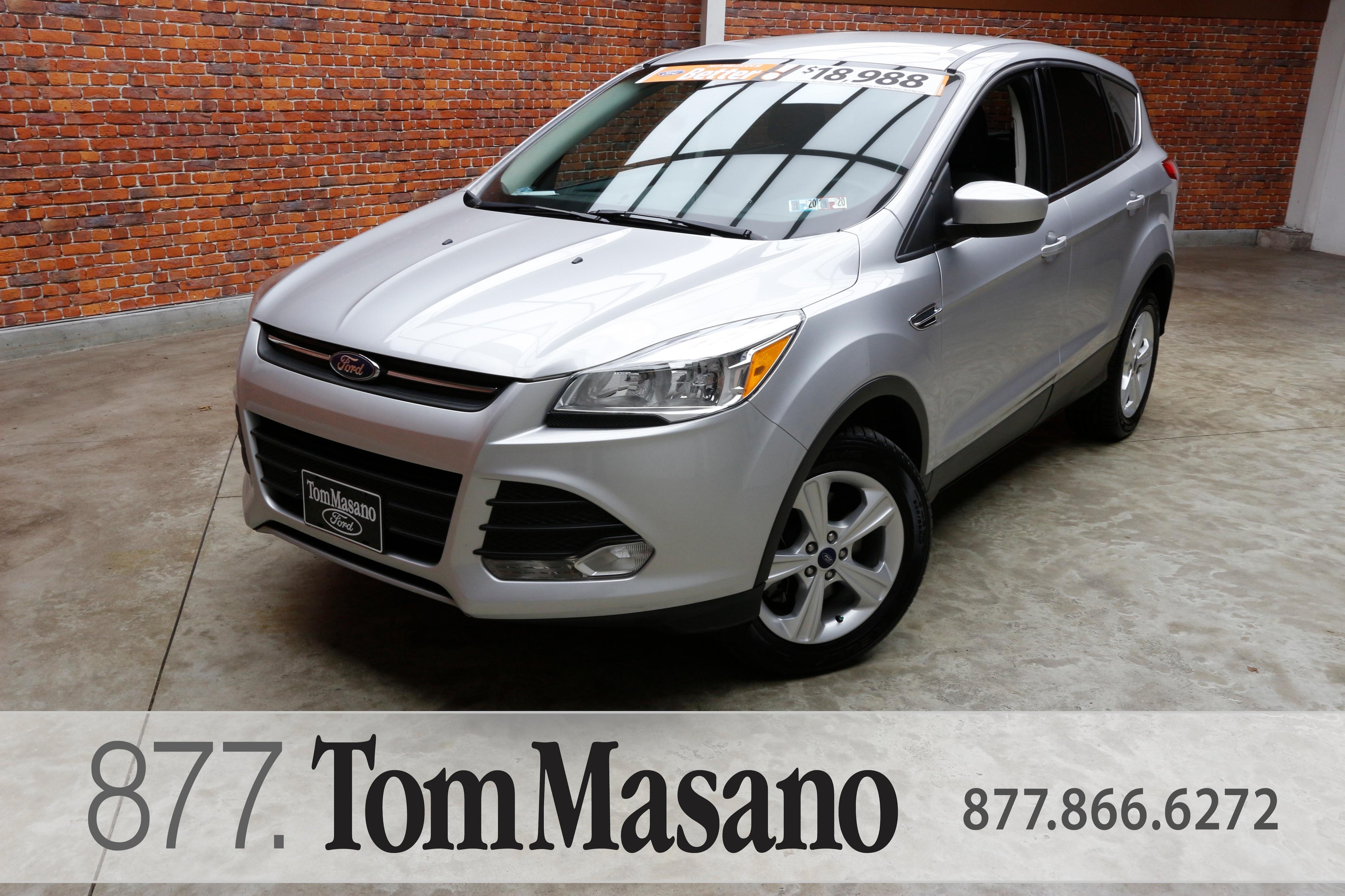 Tom Masano Used Cars >> Used 2015 Ford Escape For Sale At Tom Masano Lincoln Vin