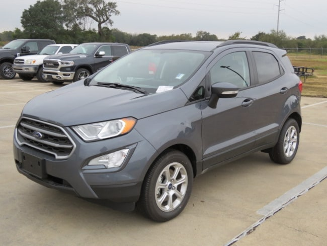 New 2018 Ford EcoSport SE SUV for sale in Columbus, TX