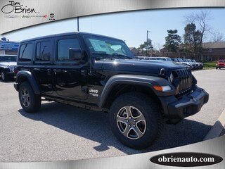 New 2018 Jeep Wrangler UNLIMITED SPORT S 4X4 Sport Utility for sale near Indianapolis